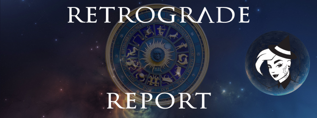 Retrograde Report for 23 August, 2020