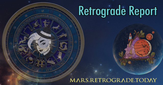 Mars retrograde ends today!