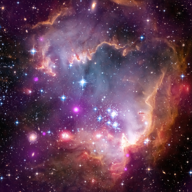 Taken Under the 'Wing' of the Small Magellanic Cloud